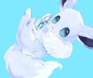adorable, anime, and eevee image