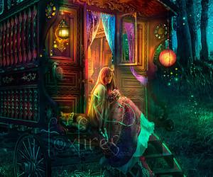 art, gypsy, and magic image