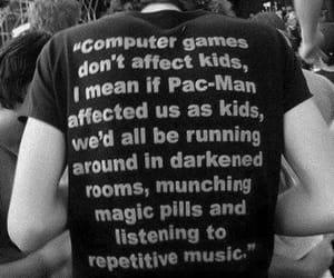 black, tshirt, and computer image