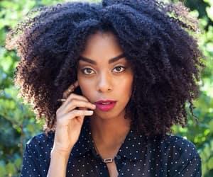 beauty, black women, and natural hair image