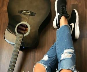 guitar and nike image