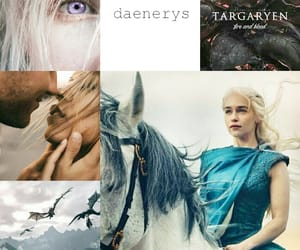dragons, aes, and emilia clarke image