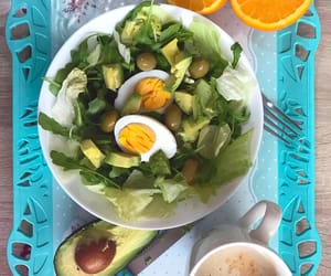 avocado, bowl, and breakfast image