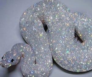 snake, glitter, and sparkle image