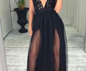 evening dress, prom dress, and 2019 prom dress image