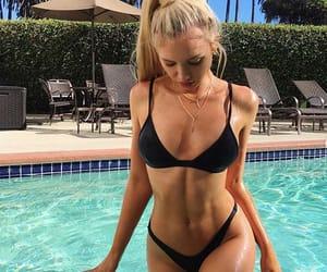 blonde, summer, and bikini image