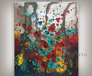 abstract art, impressionist, and Oil Painting image