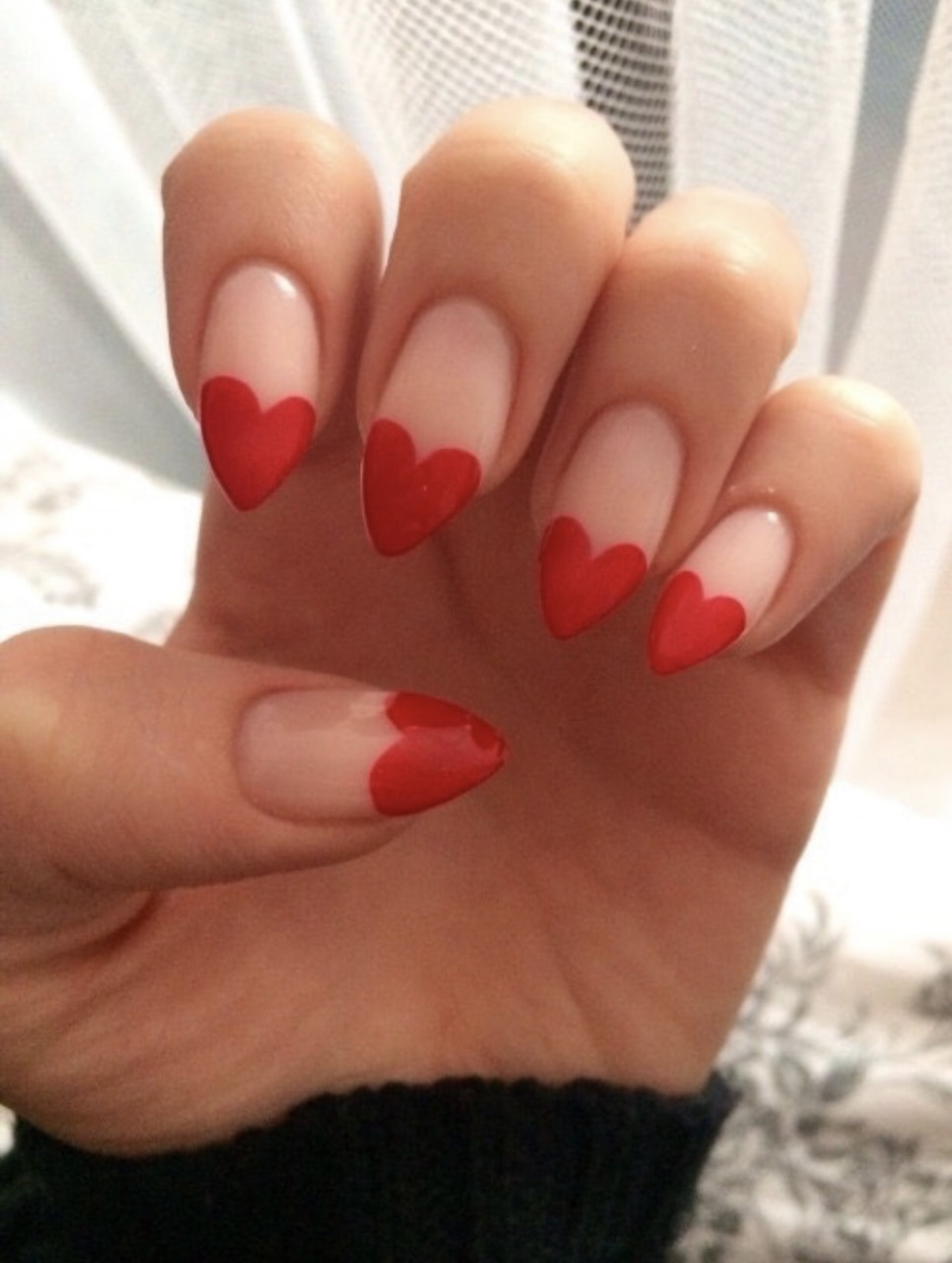 nails, red, and heart image