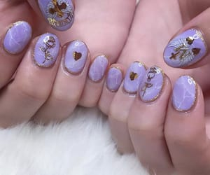 extra, gold, and nails image