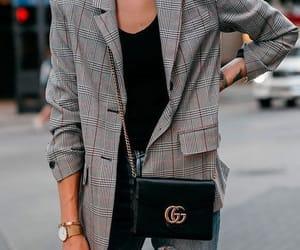 blogger, gucci bag, and fashion image