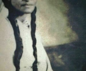 hair, native american, and indian image
