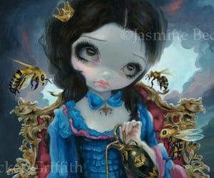 big eye, fairy, and fantasy image