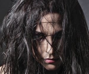 amy lee, black hair, and evanescence image