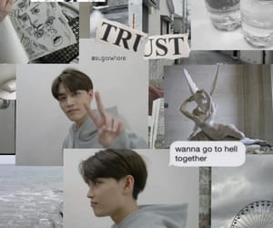 aesthetic, kpop, and taeil image