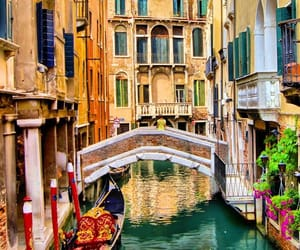 background, city, and venecia image