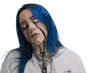 billie eilish, billie, and when the party's over image