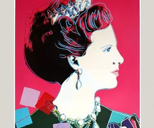 andy warhol, posters, and Queen image