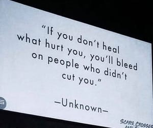 quotes, bleed, and heal image