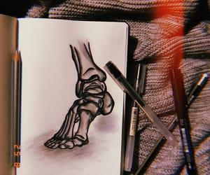 anatomy, art, and b&w image