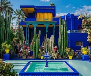 arab, blue, and marrakech image