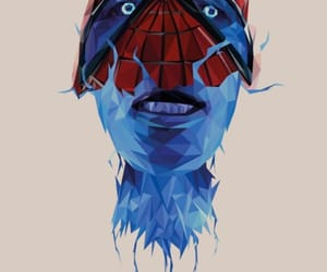 background, electro, and Marvel image