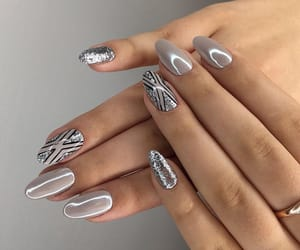 lookbook, nails, and fashion image
