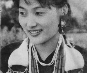 beautiful, girl, and Mongolian image