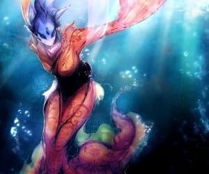 beautiful, ocean, and video game image