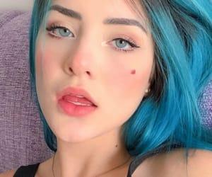blueeyes, bluehair, and brasileira image