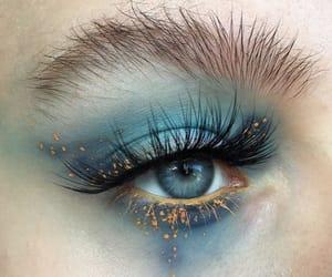 eyebrow, make-up, and eyelash image
