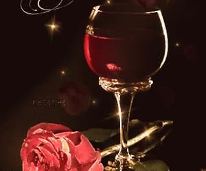 flower, red, and wein image