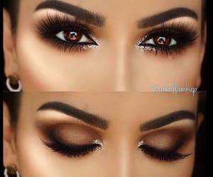 black, brown, and eyebrows image