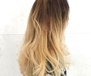 blonde, hair, and haircolor image