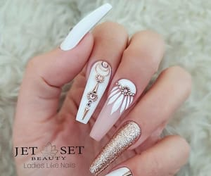 different, nails, and cute image