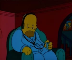 mood and simpsons image
