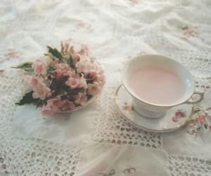blossom, ethereal, and fine china image