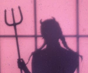Devil, aesthetic, and shadow image