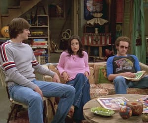 hyde, kelso, and michael kelso image