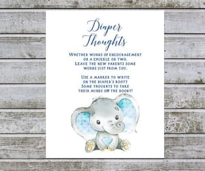 etsy, baby shower signs, and diaper thoughts boy image