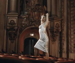 blonde, inspo, and silk dress image
