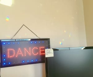 dance, prism, and rainbow image