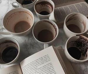 book, alternative, and coffee image