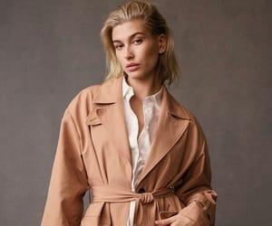 coat, model, and tan image