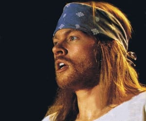 axl rose, lovely, and beautiful image