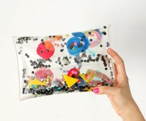 etsy, glitter purse, and vegan bag image