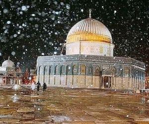 palestine, winter, and ّالقدس image