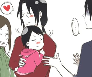 family, itachi, and sasuke image