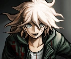 nagito komaeda, danganronpa, and anime image