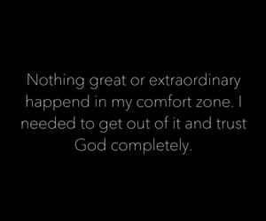 believe, christian, and comfort zone image