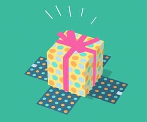 feliz, gif, and regalo image